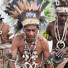 Old Papua Dancer  by BenClarkImagery
