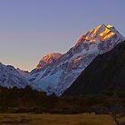 Aoraki Mt Cook New Zealand by Clive Roper