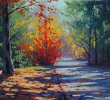 Touch Of Autumn Mt Wilson by Graham Gercken