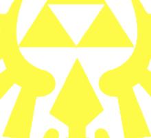 Zelda - Triforce (Yellow) Sticker