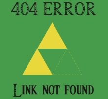 404 - Link not found (A) by DrGluefoot
