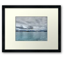 Sydney From The Water Framed Print