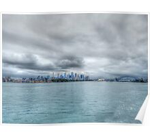 Sydney From The Water Poster