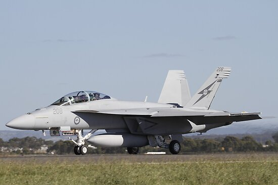 RAAF Super Hornet by Daniel McIntosh