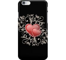 Valentine Decorative T-shirt - Two Hearts, Two Souls iPhone Case/Skin