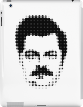 Ron Swanson Retro  by Madkristin