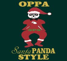 ??Oppa Santa-Panda Style Hilarious Clothing & Stickers?? by Fantabulous