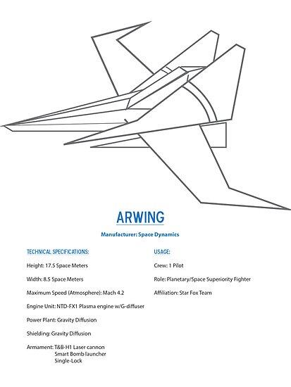 Arwing by KoopaKiddo