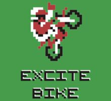 Excite Bike, geek game of 80s by D4RK0