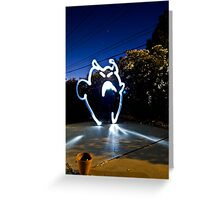 Creature of Light Greeting Card