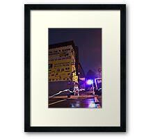 The Lights of Classon Avenue Framed Print
