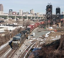 Urban Railroading by StonePhotos