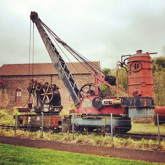 Old Mining Crane by chewi