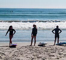 surf life savers by Anne Scantlebury