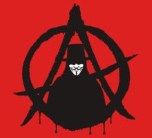 Anonymous Vendetta Anarchy Kids Clothes