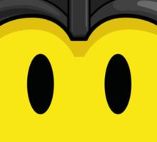 Darth Smiley Icon Sticker