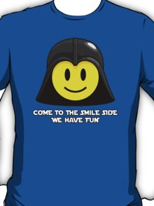 Darth Smiley - Come to the Fun Side T-Shirt