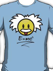 Smiley Einstein - E = mc² T-Shirt