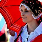 Red Umbrella - Pako Fest Geelong by bekyimage