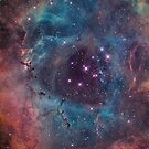 Nebula I iPhone Cover by Jamie Syke
