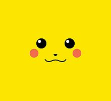 Pikachu iPhone Cover by Jamie Syke