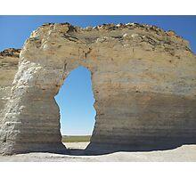 Kansas Chalk Pyramids Photographic Print