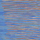 stripes with orange and blue by skooter65