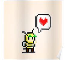 Bumblebee Love Poster