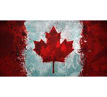 Canada - Magnaen Flag Collection 2013 Photographic Print