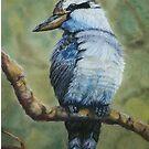 Pastel Kookaburra by Elaine Game