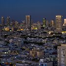 Tel Aviv at the twilight magic hour by Ronsho