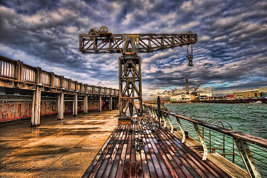 Tel Aviv port at winter time by Ronsho