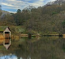The Boathouse On Rydal Water by Jamie  Green