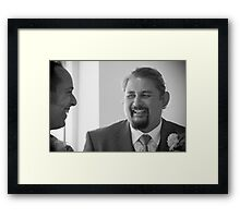Tina and Andy 29 Framed Print