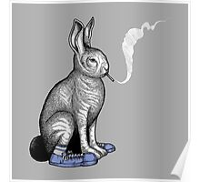 Carrot Smoke Trick Poster