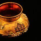 Golden Vase by Lynn Gedeon