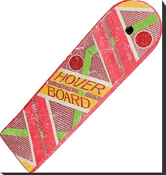 Back To Future Hover Board (Vintage) by Look Human