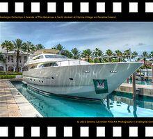 Nostalgia Collection • Islands of The Bahamas • Yacht docked at Marina Village on Paradise Island by 242Digital