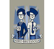 Nerd Britannia Photographic Print