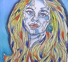 Blue Woman by gailmiller