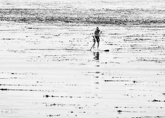Standing Surfer by jjbentley