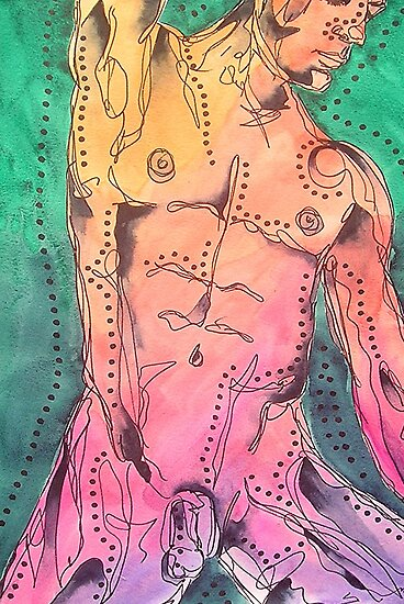 Male Nude 2 by gailmiller