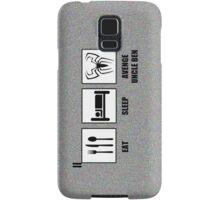 Eat Sleep Avenge Uncle Ben Samsung Galaxy Case/Skin