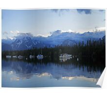 Misty Mountaintops Poster