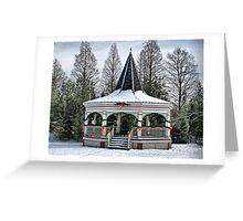 Christmas Gazebo Greeting Card