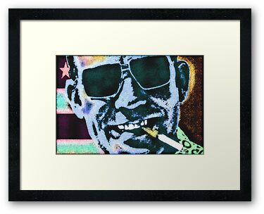 Hunter S. Thompson by OTIS PORRITT