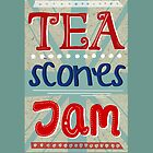 Tea, Scones, Jam by missymops