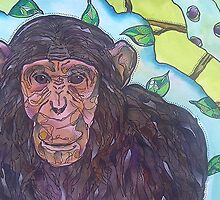 Chimpanzee by gailmiller