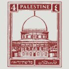 Palestine Stamp by Daniel Gallegos