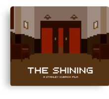 The Shining, Elevator Canvas Print